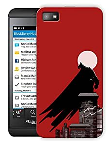 "Black Cape And Moonlights Printed Designer Mobile Back Cover For ""Blackberry Z10"" By Humor Gang (3D, Matte Finish, Premium Quality, Protective Snap On Slim Hard Phone Case, Multi Color)"