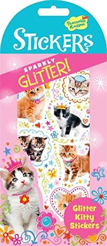 Peaceable Kingdom Glitter Kitty Sticker Pack