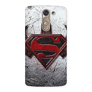 Ajay Enterprises Super vs Awesome Batx Back Case Cover for LG G3 Stylus