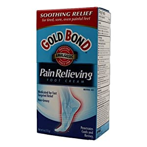 Gold Bond Pain Relieving Foot Cream-4oz