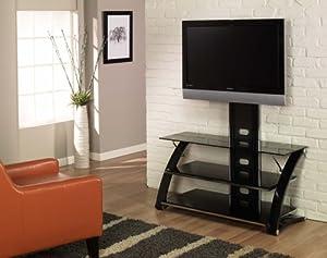 Z-Link ZL56444MU TV Stand for 44-Inch TV, Vitoria Glass