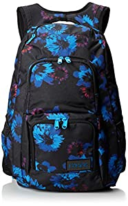DAKINE Damen Rucksack Jewel 26 Liters, Blue Flowers, 48 x 30 x 23 cm, 8210010