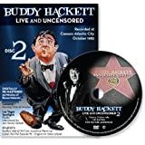 Buddy Hackett 2 Live and Uncensored At Caesar's, Atlantic City DVD (2012)
