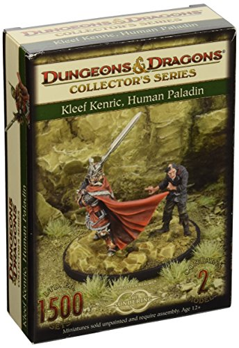 D&D Sundering Book 5 Kleef & Malik 2 Figure Board Game