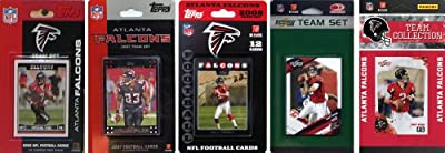 NFL Atlanta Falcons 5 Different Licensed Trading Card Team Sets