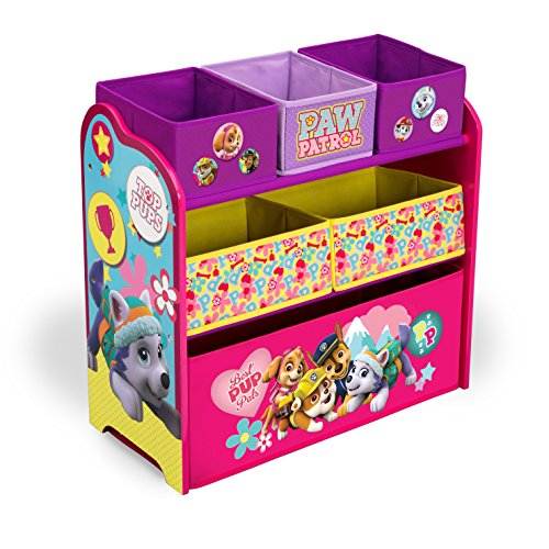 Buy Discount Delta Children Multi-Bin Toy Organizer, Nick Jr. PAW Patrol - Skye & Everest