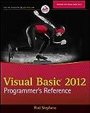 Visual Basic 2012 Programmer's Reference