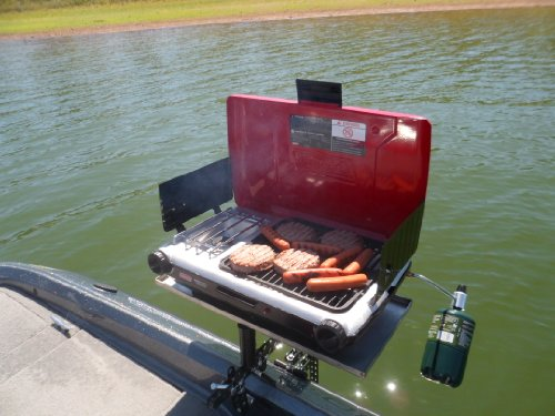 Bbq Grill Mounting Set For Any Fiberglass Boat