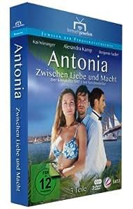 Amazon.com: Antonia: Zwischen Liebe und Macht (3 DVDs) (Fernsehjuwelen