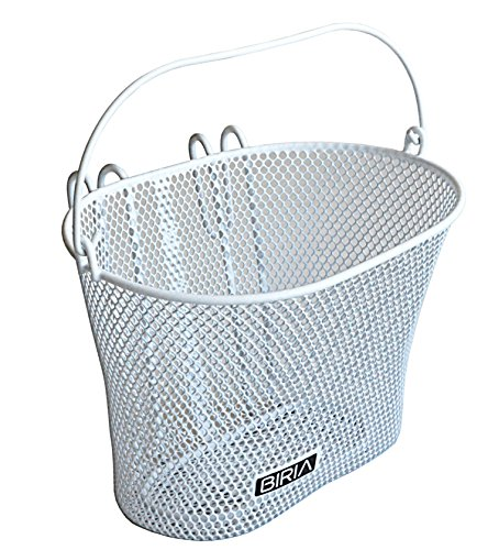 Basket-with-hooks-WHITE-Front-Removable-wire-mesh-SMALL-Bicycle-basket-WHITE