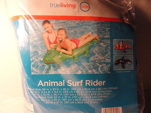 Black Whale Animal Surf Rider - 1