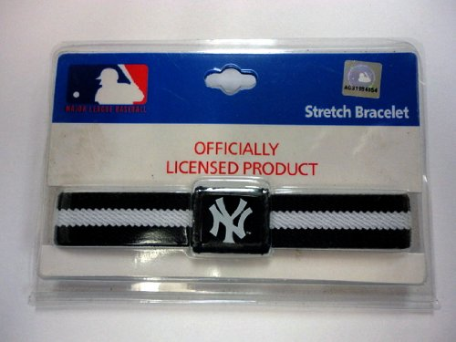 New York Yankees Stretch Bracelet - Case Pack 12 SKU-PAS1041092