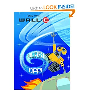 Blast Off! Wall-E Deluxe Coloring Book!