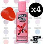 Crazy Color Renbow Lot de 4 tubes de...