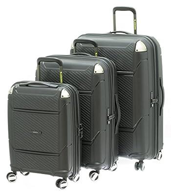 1 Valise ultra résistante cadenas TSA petit modèle DAVIDT'S 267185 BLACK 55 cm