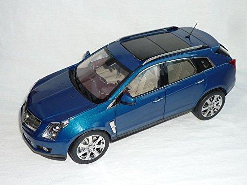 cadillac-srx-crossover-caribbean-blau-2010-1-18-kyosho-modellauto-modell-auto