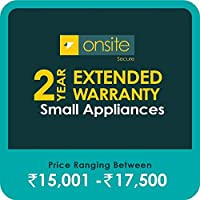 Onsite Secure 2 Year Extended Warranty for Small Appliances (Rs 15001 - 17500)