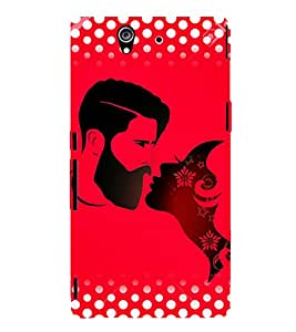 Man And Woman 3D Hard Polycarbonate Designer Back Case Cover for Sony Xperia Z :: Sony Xperia Z L36h