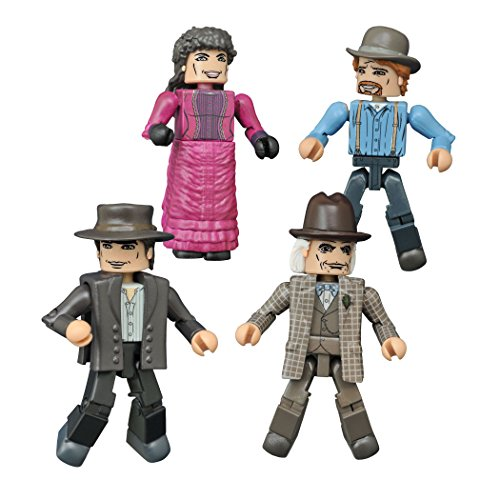 Diamond Select Toys Back to The Future: 30th Anniversary 1885 Minimates Box Set