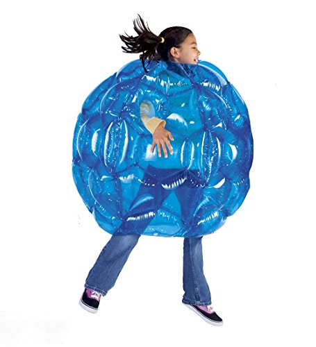 Buddy Bounce Outdoor Play Ball, Inflatable - Blue - 36'' diam.