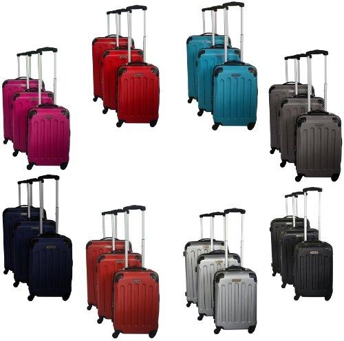 normani® Polycarbonat Kofferset 3-teilig