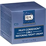 Roc Multi Correxion 5-In-1 Restoring Night Cream, 1.7 Fluid Ounce