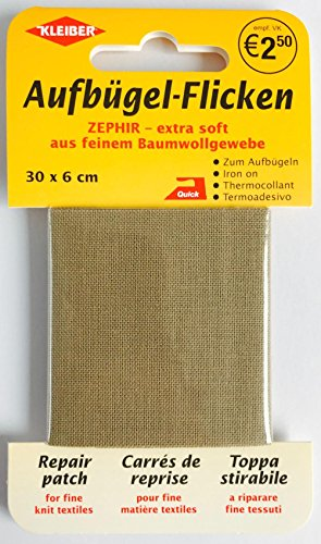 kleiber-parche-de-reparacion-de-algodon-termoadhesivo-tamano-grande-40-x-12cm-color-color-beige