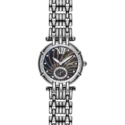Charmex Pisa 6141 31mm Silver Steel Bracelet & Case Synthetic Sapphire Women's Watch