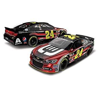 Buy Jeff Gordon #24 AARP DTEH 2014 Chevy SS NASCAR Diecast Car, 1:24 Scale ARC HOTO by Lionel Racing