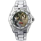 EPSP280 The Legend Of Zelda Twilight Princess Triforce Stainless Steel Wrist Watch