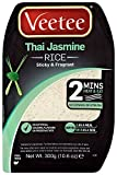 Veetee Dine In Thai Jasmine Rice 300 g (Pack of 6)