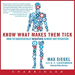 Know What Makes Them Tick Audiobook