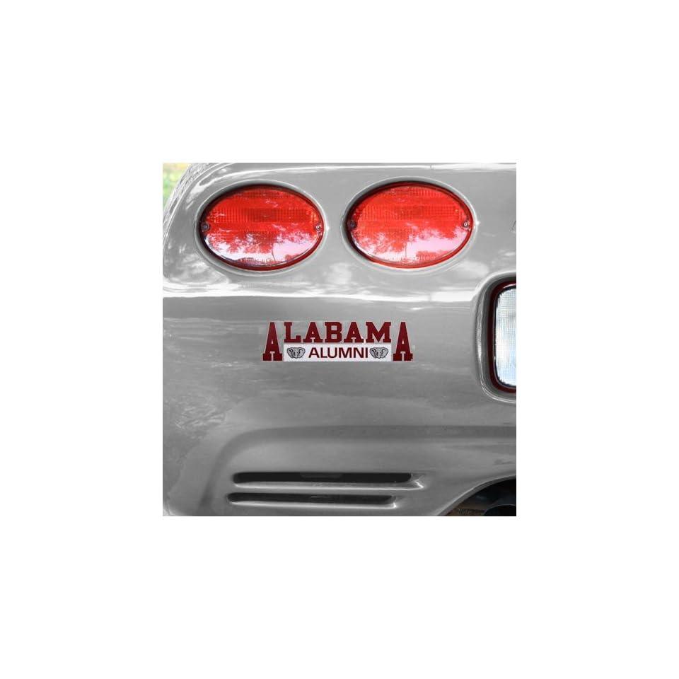 Alabama Crimson Tide Alumni Car Decal