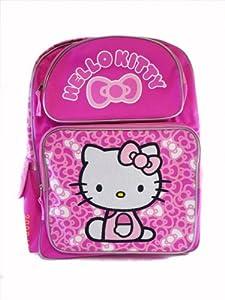 Sanrio Hello Kitty Ribbon Pink Large Backpack Bag
