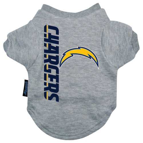 San Diego Chargers Clothing: Hunter MFG San Diego Chargers Dog Tee, Small Apparel
