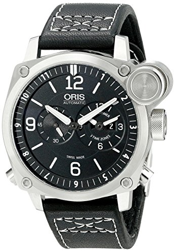 Oris-Mens-690-7615-4164-LS-BC4-Flight-Timer-Analog-Display-Automatic-Self-Wind-Black-Watch