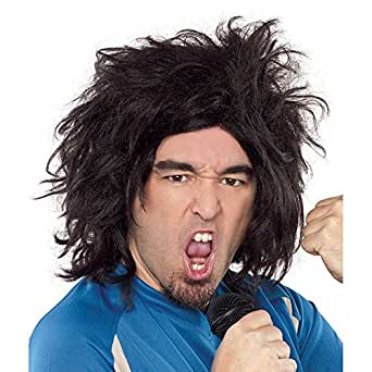 UK Funny Man Rocker Wig