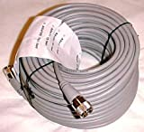 100 ft RG8X COAX CABLE CB / Ham Radio w/ PL259 Con. Astatic