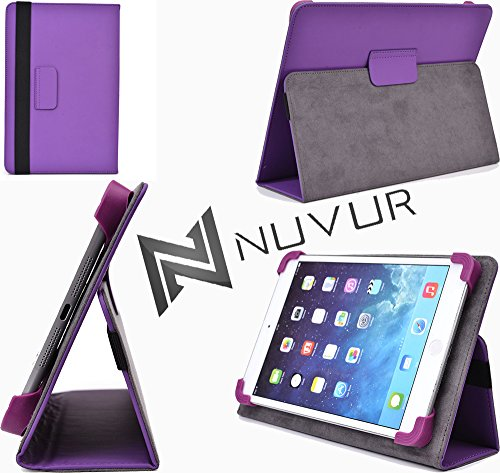 Purple- Lenovo Tab A7-50 Compatible Case Cover With Adjustable Stand Nuvur ™