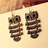 Hoter The Owl Drop Earring, Retro Style, Price/Pair, Gift Idea