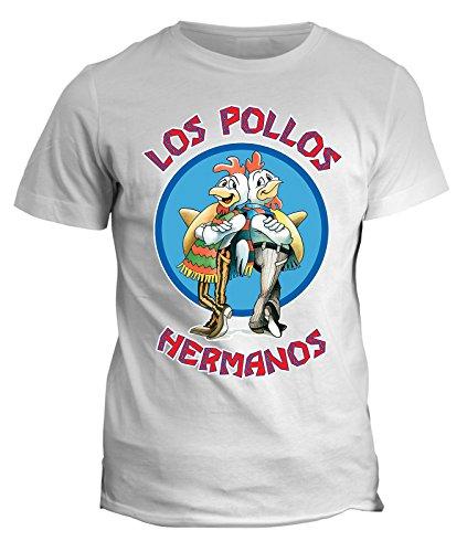 Tshirt Breaking Bad - Los pollos Hermanos - Heisenberg - meth serie tv - telefilm - in cotone by Fashwork