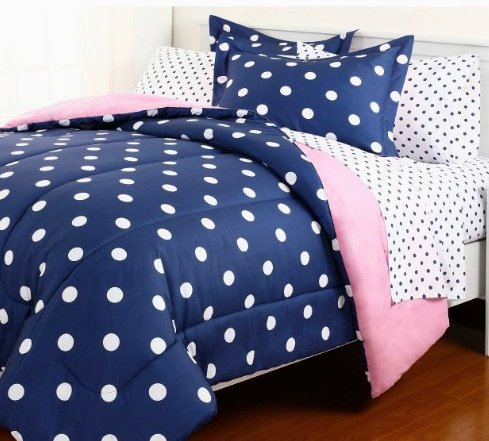 Polka Dot Twin Bedding 6795 front