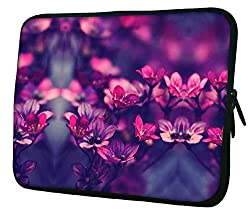 Snoogg Laptop Netbook Computer Tablet PC Shoulder Case Carrying Sleeve Bag Pouch Cover Protector Holder For Apple iPad/ Hp Touchpad Mini 210 T100 hp Touchpad Mini t100ta/Acer Aspire One/Lenovo Ideatab S6000 /Lenovo Yoga 10 HD+ And Most 9.7
