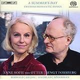 スウェーデン・ロマン派歌曲集 (A Summer's Day - Swedish Romantic Songs / Anne Sofie von Otter, Bengt Forsberg / Berwald, Geijer, Lindblad, Soderman) [SACD Hybrid] [輸入盤]