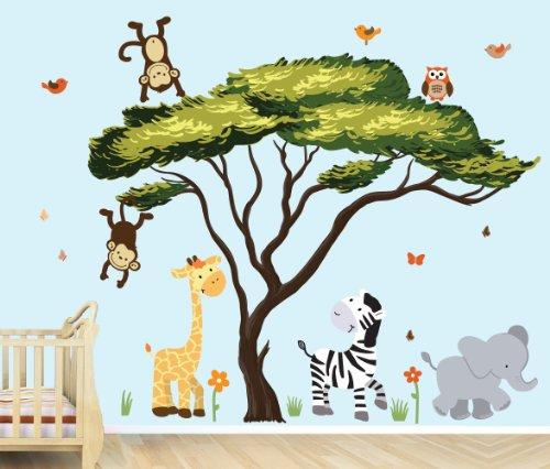 Monkey Nursery Wall Decor