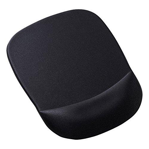 サンワサプライ 低反発リストレスト付きマウスパッド ブラック MPD-MU1NBK