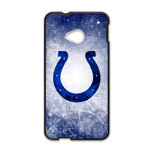 Fantastic Design Indianapolis Colts Htc One M7 Shell Case Cover (Laser Technology)