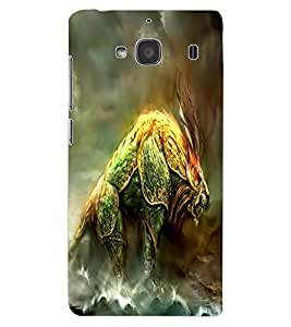 ColourCraft Fantasy Animal Design Back Case Cover for XIAOMI REDMI 2S