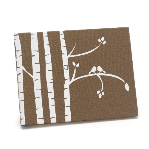 Hortense B. Hewitt Guest Book Wedding Accessories, Birch Trees