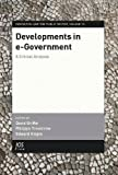 img - for Developments in e-Government: A Critical Analysis - Volume 13 Innovation and the Public Sector book / textbook / text book